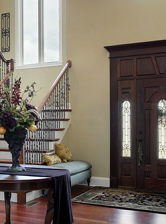 foyer of a house